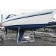 XL 4, sailboat-stand for 33-38 feet boat.