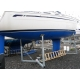Yachtscradle M for to 21-27 feet yachts