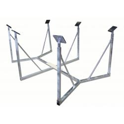 Boatcradle XL 6 legs for 33-38 feet boats