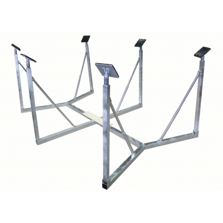Boatcradle XL 6 legs for 33-38 feet boats