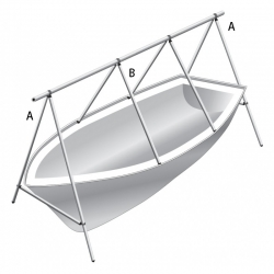 A boat covering systems, 6 m