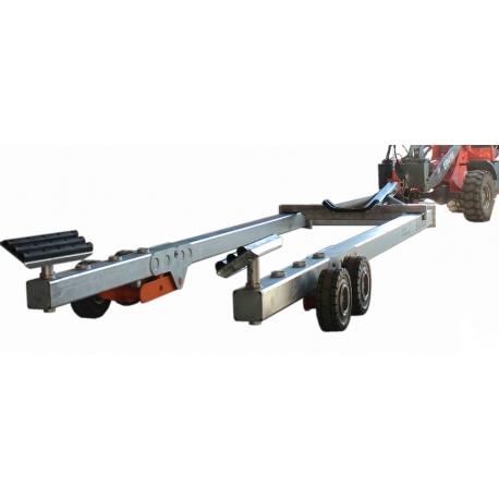 Hüdraulilised sadama- slipi treilerid